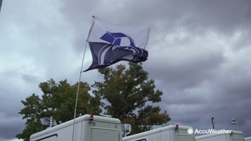 Nittanyville halted due to heavy winds