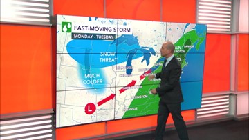 Big storm system on the way for Midwest, Northeast
