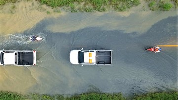 What to do if you have to drive in floodwaters