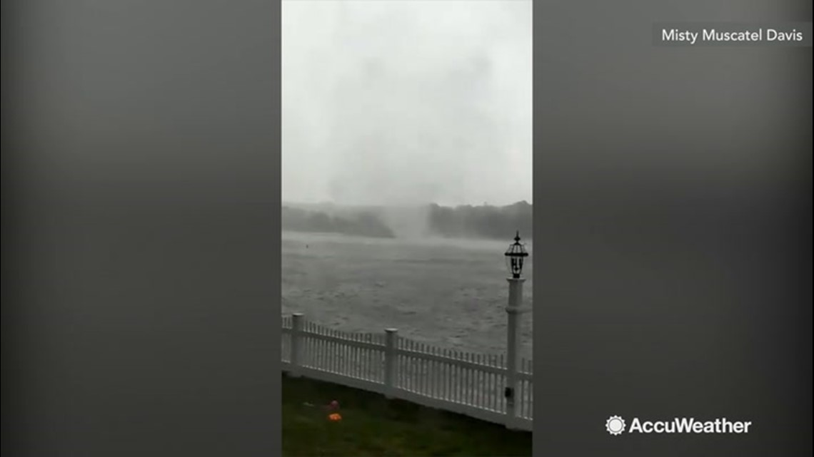 'Oh my gosh!' Waterspout spotted | wfmynews2.com