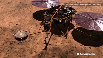 NASA's Insight lander detects first 'marsquake'