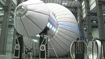 NASA Considering Inflatable Space Habitats for Moon Mission