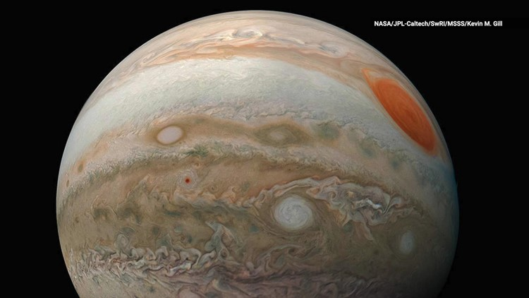 Turns Out Jupiter Was Once Four Times Farther Away From The Sun