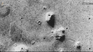 Does Mars Really Have a Face on its Surface?