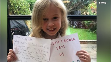 7-Year-Old Activist Calling on Crayola to Be More Eco-Friendly
