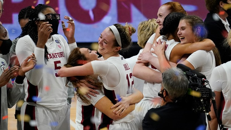 Stanford holds off Arizona 54-53 to win women's NCAA title