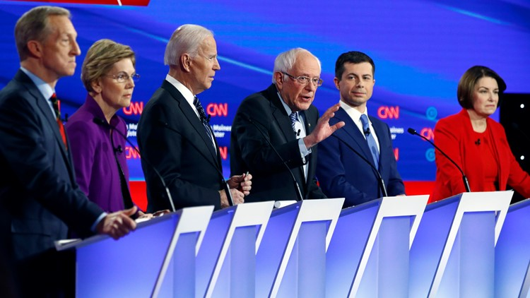Seventh Democratic Debate 2020 January AP