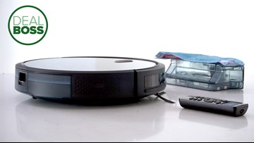 This robo vac is better than a Roomba and half the price