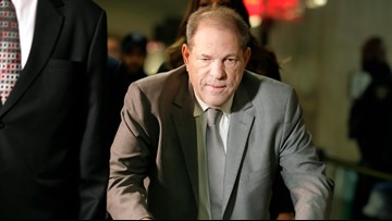 Weinstein trial opens, portraying ex-producer as predator
