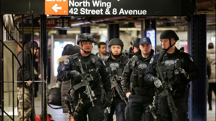 Man whose NYC subway pipe-bomb fizzled gets life in prison
