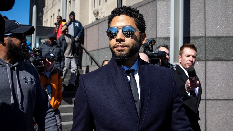 Body cam footage shows actor Jussie Smollett with rope around his neck