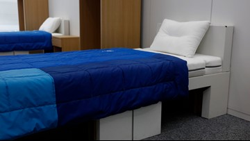 Athletes at 2020 Tokyo Olympics will be sleeping on cardboard beds