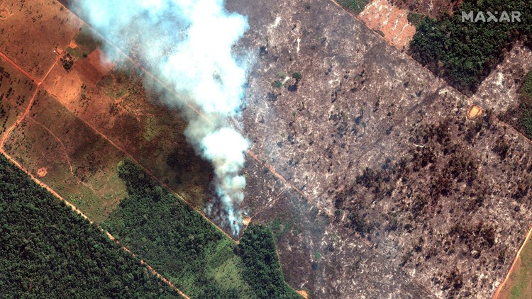 Brazil military begins operations to fight Amazon fires