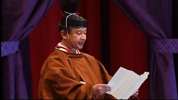 Japanese Emperor Naruhito ascends Chrysanthemum Throne