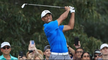 Tiger Woods earns 3-shot lead at Tour Championship, 1 round away from winning