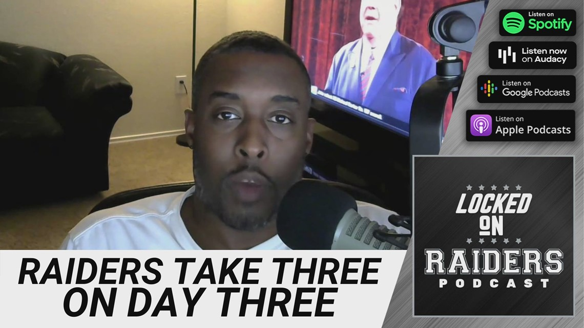 Reaction: The Las Vegas Raiders pick three players on day three of the NFL Draft
