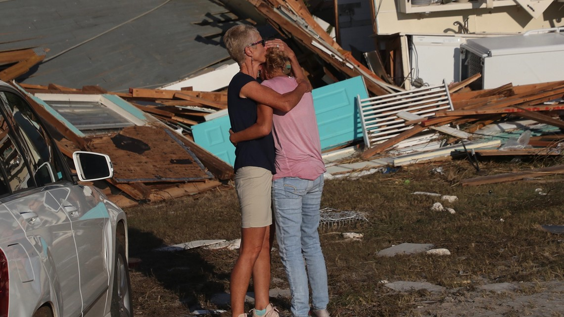 At least eleven people dead after Hurricane Michael batters United States coast