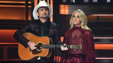 Carrie Underwood, Brad Paisley tease fun and can't-miss moments at CMA Awards