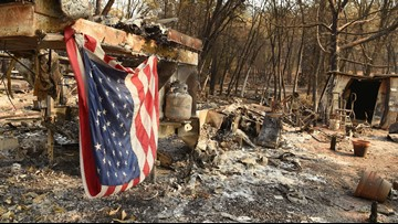 Rain for wildfire-weary California offers relief and more problems