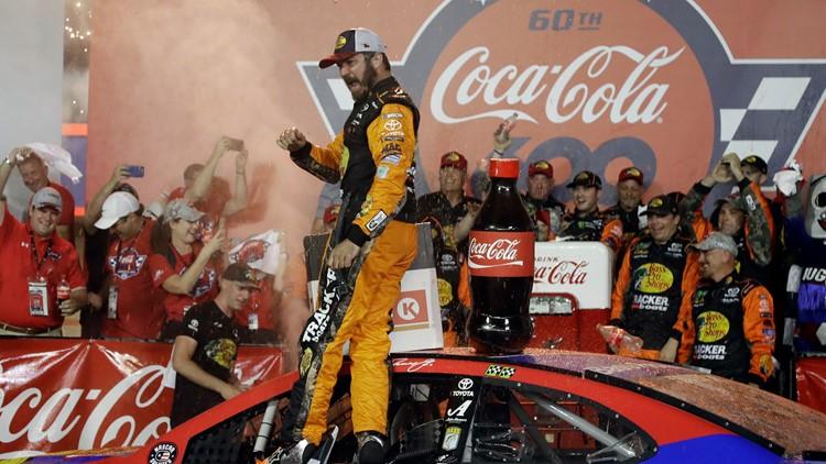 Martin Truex Jr. wins Coca-Cola 600 at Charlotte Motor Speedway