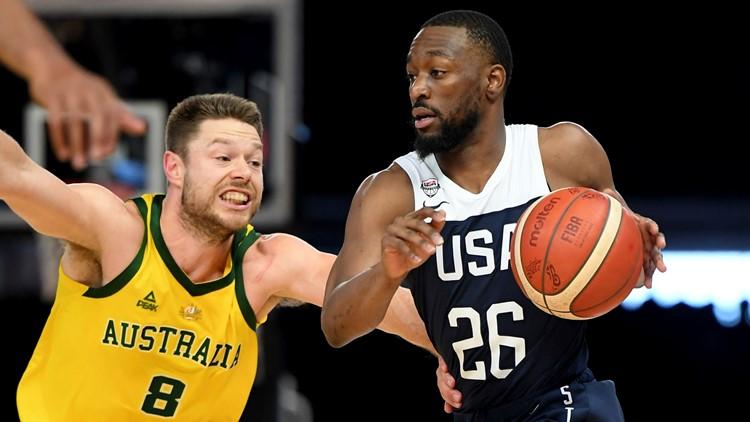 Australia ends Team USA Basketball win streak; roster set but Kuzma out of World Cup
