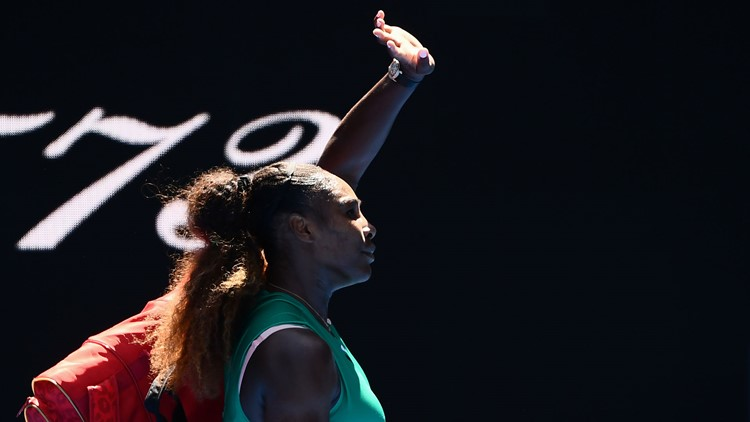 Serena Williams loses quarterfinal stunner after foot-fault