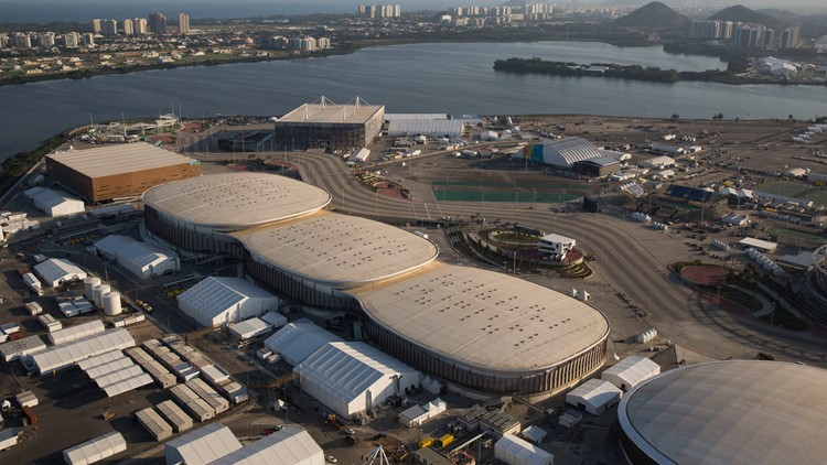 Brazil OLY Rio 1 Year Later AP