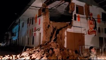 Magnitude-8 earthquake strikes Amazon jungle in Peru