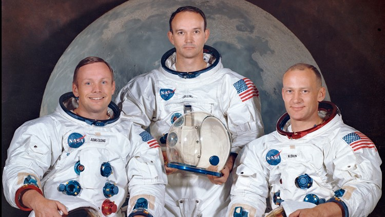 Apollo 11 astronauts returning to launch pad 50 years later
