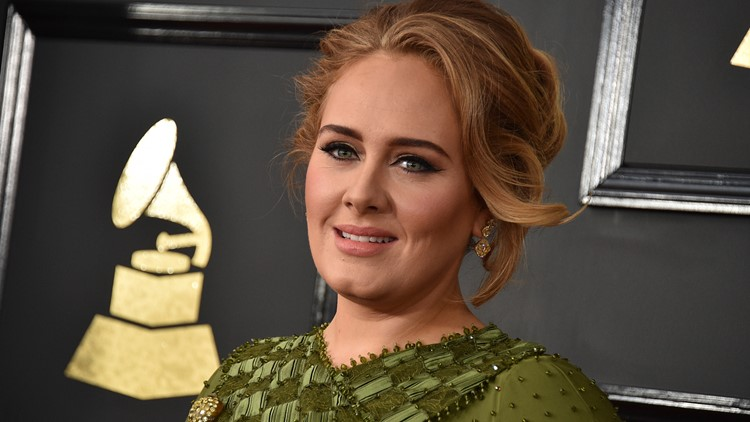 Adele singer February 2017 AP
