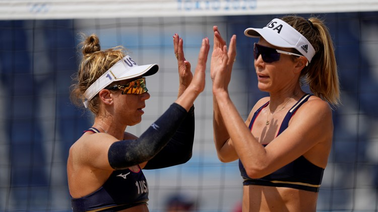 Fast facts about US beach volleyball 'A-Team' April Ross and Alix Klineman