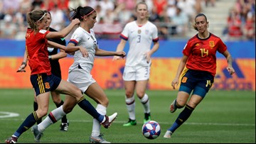 US in the World Cup quarterfinals after 2-1 win over Spain