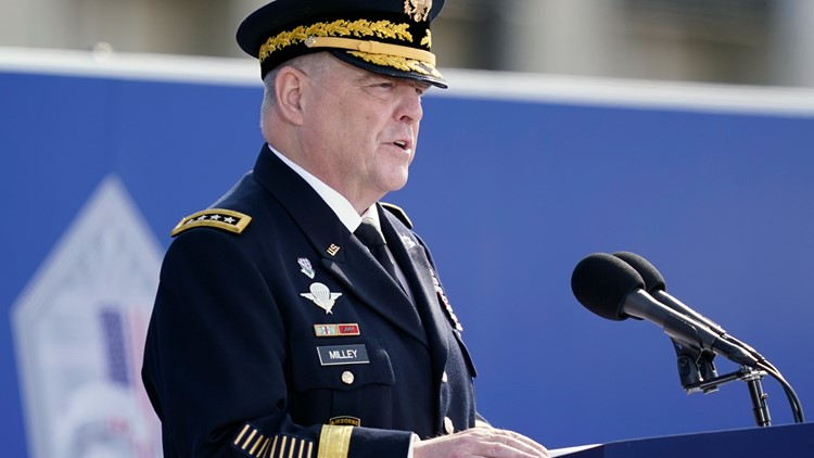 Gen. Mark Milley makes first public comments on his calls to China