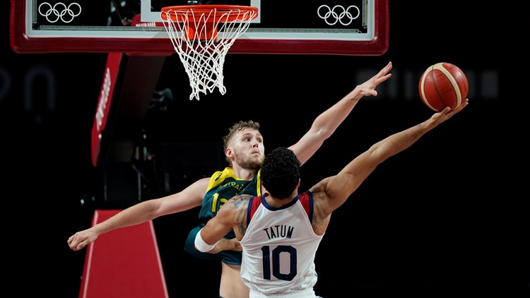 Awful then awesome: US dominates Australia after slow start to reach men's hoops final