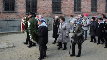 Survivors return to Auschwitz 75 years after liberation