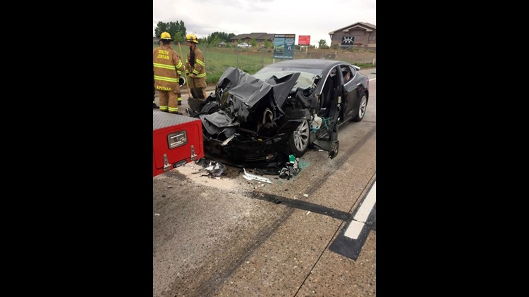 Information recovered by Tesla engineers confirms what the driver had told police, that the Model 2 was in Autopilot and she was distracted when it hit a fire truck at 60 mph.