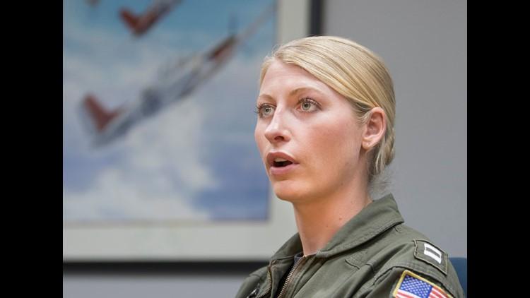 female Naval pilot