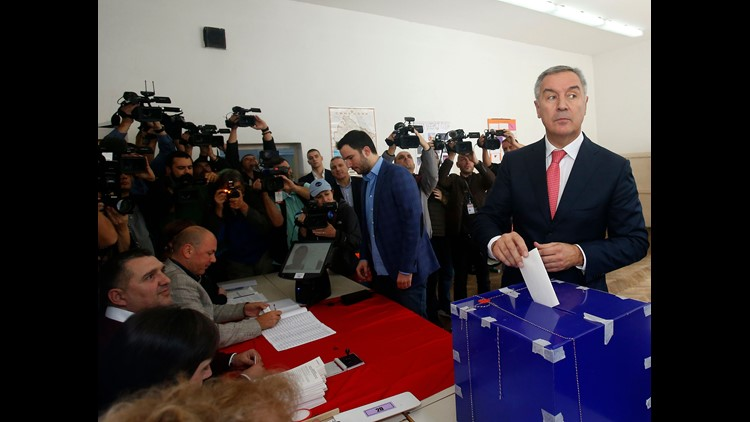 Milo Djukanovic wins Montenegro's presidential election