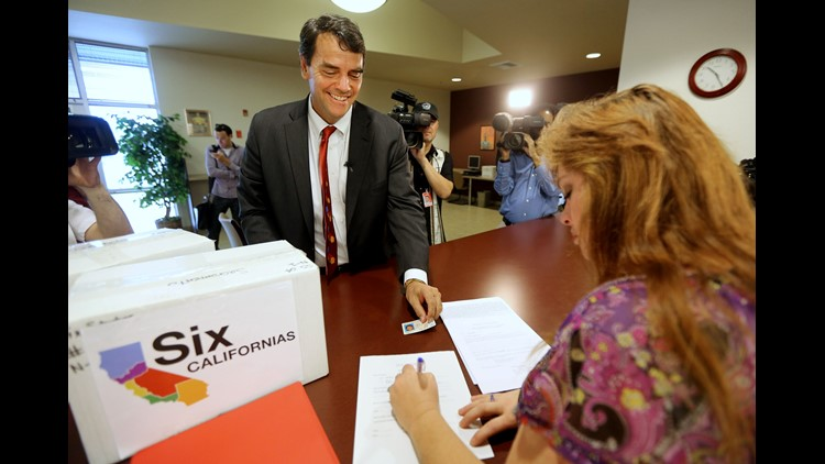 Proposal to split California into three states qualifies for November ballot