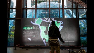 Amazon chooses NYC and Arlington, Va., to jointly share its headquarters