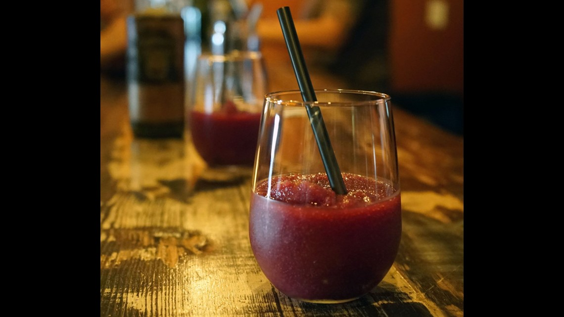 The Infinite Monkey Theorem winery wants you to think wine is accessible. The urban winery serves a red wine slushy -- the perfect drink for a warm summer ...