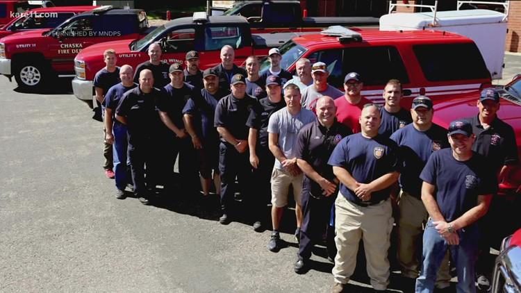Minnesota firefighters safely return from Hurricane Ida response mission