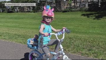 Cambridge family wants to thank stranger who bought their 4-year-old a bike