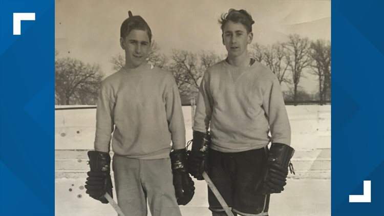 Bob and his twin brother, Bill, played on the same line during Johnson High School's legendary hockey era.