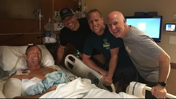 Grizzly bear attack victim shares his story