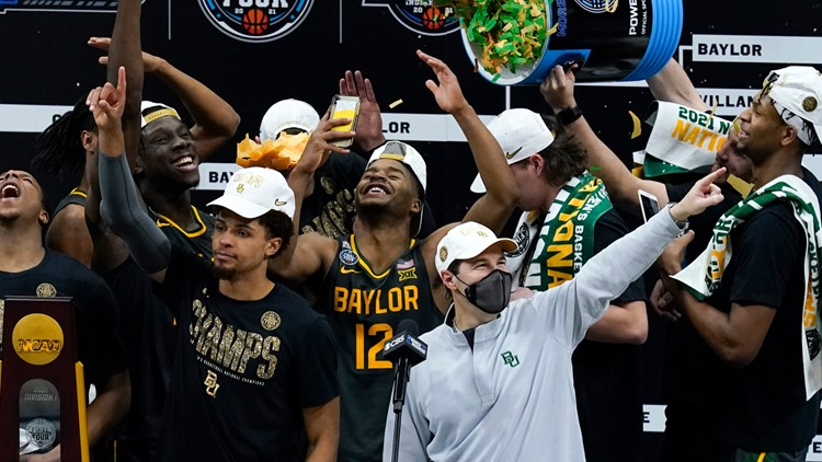 Baylor routs Gonzaga, wins first men's basketball national championship