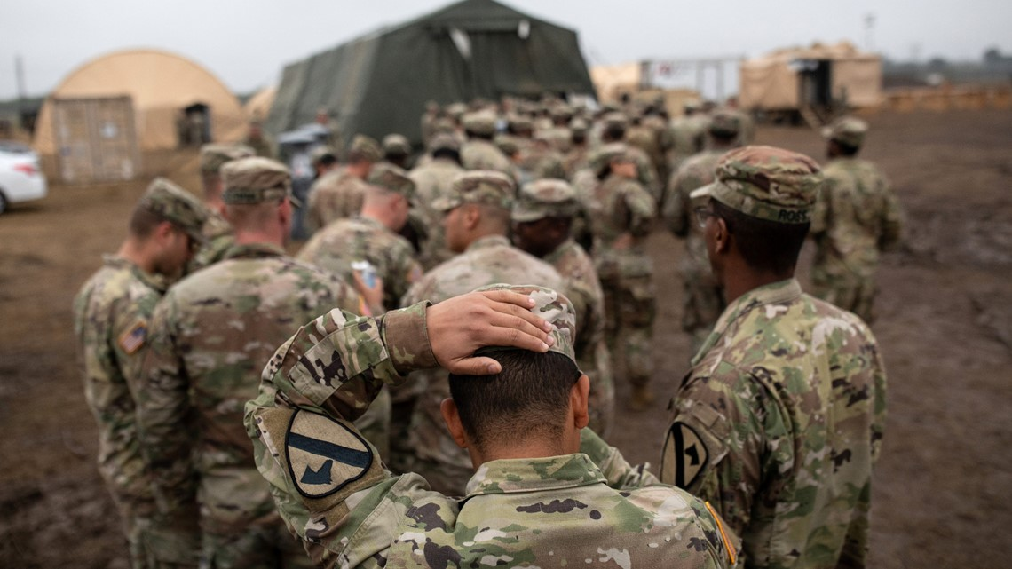 Military deployment to the US-Mexico border extended nine more months