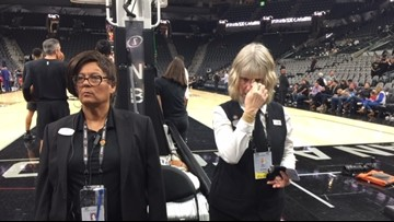 Mood inside the AT&T Center somber, surreal after reports of Bryant's death