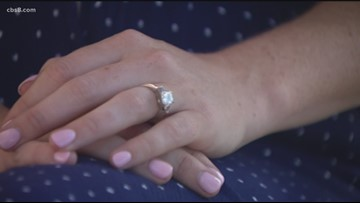 Woman swallows engagement ring while dreaming about her fiancé