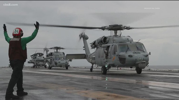 Navy declares 5 missing crew members deceased after helicopter crash off coast of California
